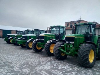 Тракторы Johndeere 6620.6910.7700.7710.6930.7530